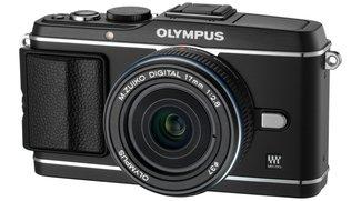 Olympus Pen E-P3: Neue Systemkamera mit Blitz