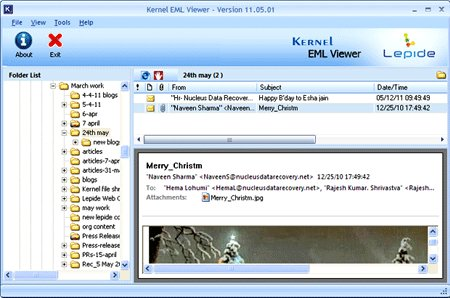 Outlook-Express-EML-Viewer
