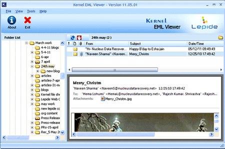 Outlook-Express-EML-Viewer