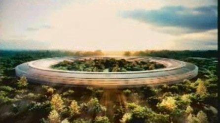 Apple plant UFO als neue Firmenzentrale