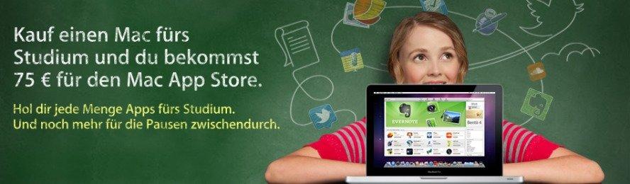 Apple startet Mac fürs Studium-Aktion
