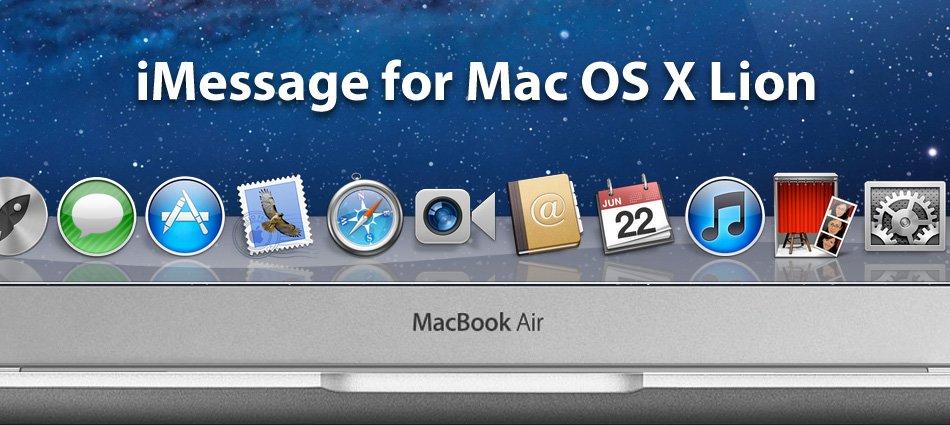 Konzeptvideo: iMessage für OS X