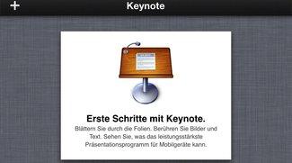 iWork macht mobil: Keynote auf dem iPhone