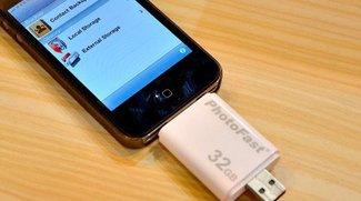 PhotoFast i-FlashDrive: Zusatz-Speicher für iPad, iPhone, iPod touch