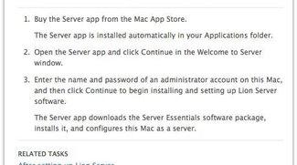 Mac OS X 10.7 Lion: Server-Funktionen nur gegen Aufpreis