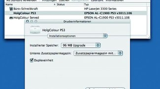 Drucker-Dienstprogramm