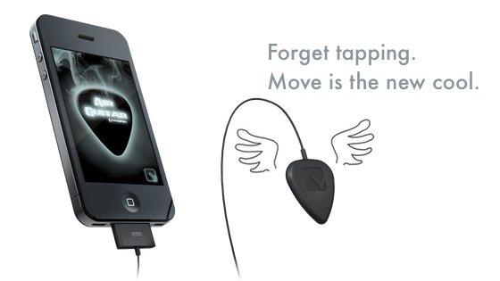 Kickstarter: Air Guitar Move für iPhone