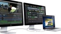 Apple Thunderbolt Display: 27-Zoll-Bildschirm mit schneller Schnittstelle