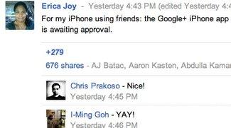 Google+: iOS-App für App Store eingereicht