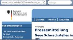 Bundesamt für Sicherheit: Keine PDFs auf iPhone und iPad öffnen