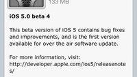 iOS 5 Beta 4: Erstmalig mit Over-the-Air-Update
