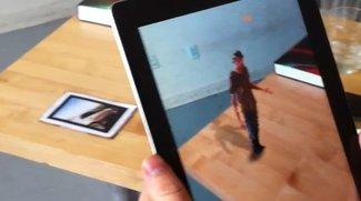 iPad mit Kinect: 3D-Video auf dem Tablet