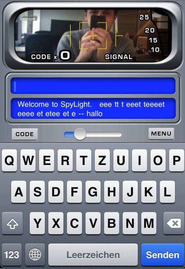Morsen mit dem iPhone