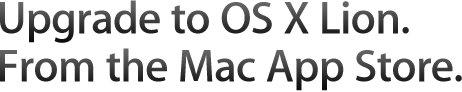 Supportemail: OS X Lion ab Mittwoch im Mac App Store?