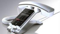 iPhone-Headset einmal anders: der Hörer fürs Handy