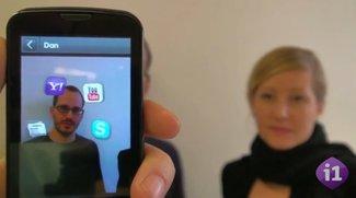iOS 5 mit Gesichtserkennung