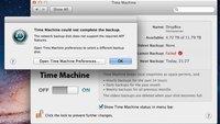 Time Machine und OS X Lion: Drittanbieter-NAS nicht mehr unterstützt