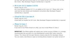 Entwickler-Updates auf OS X 10.7.2 Build und iCloud Beta 9 möglich