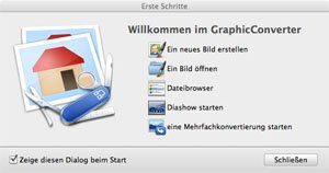 Stapelverarbeitung: Der GraphicConverter im Einsatz