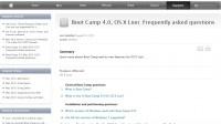 Neue BootCamp FAQ