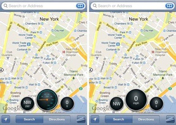 Cydia-Tweak: Komplettes Dashboard für Google Maps
