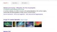 Optimierte Google-Suche fürs iPad