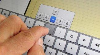 iPad-Tastatur: Umlaute und Sonderzeichen - die 5 wichtigsten Tipps