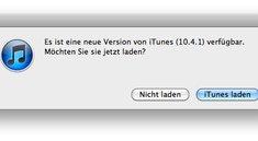 iTunes 10.4.1 ist da