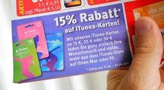 iTunes-Karten: Rabatte bis 20 Prozent in Supermärkten