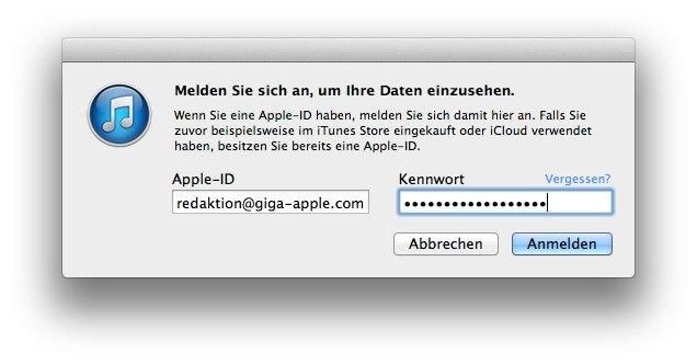 iTunes-Konto-gehackt-Login