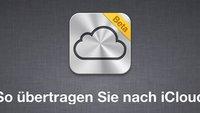 Von MobileMe zu iCloud: Bestehende User behalten Speicherplatz