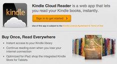 Kindle Cloud Reader: Amazon schlägt Apple mit Browser-App ein Schnippchen