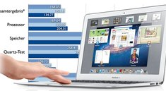 MacBook Air Mid 2011: Benchmark-Tests