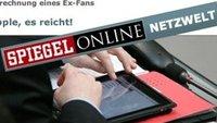Apple-Fans entwickeln Apple-Hass: Spiegel-Online macht Wind