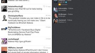 Twitter: Neue Startseite für iPad-Benutzer