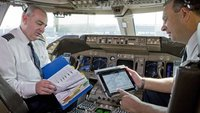 iPad im Cockpit