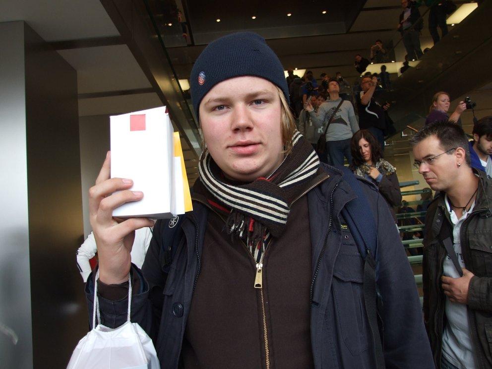 Apple Store Jungfernstieg: Bilder und Eindrücke der Eröffnung