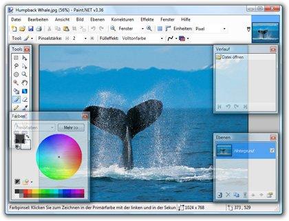 Paint.NET Download Screenshot