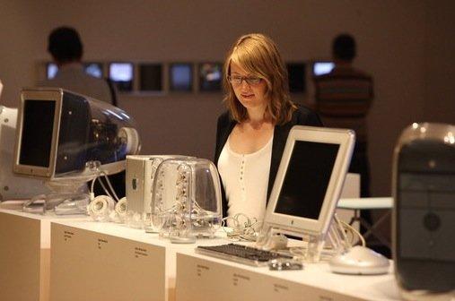iPad-Kunst im Museum