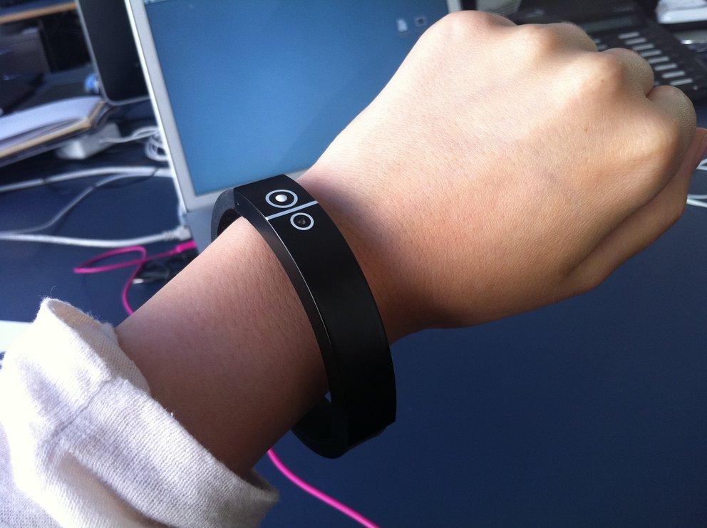 Vibrationsalarm im Armband (Test)