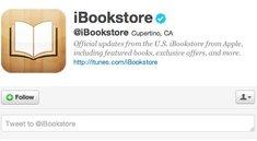 @iBookstore: Apple öffnet offiziellen Twitter-Account für Buchgezwitscher