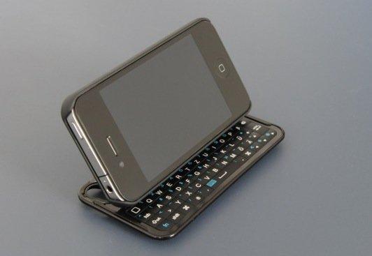 i.Gear slider: Tastatur-Case fürs iPhone 4