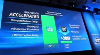 Intels Haswell-Chips: 24 Stunden Batterielaufzeit und 10 Tage Standby möglich