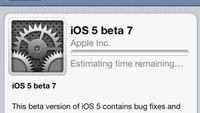 iOS 5 Beta 7 für Entwickler freigegeben