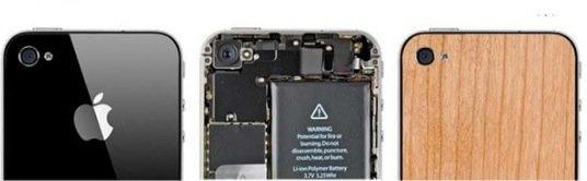 iPhone-Modding: Ein bisschen Holz fürs iPhone 4