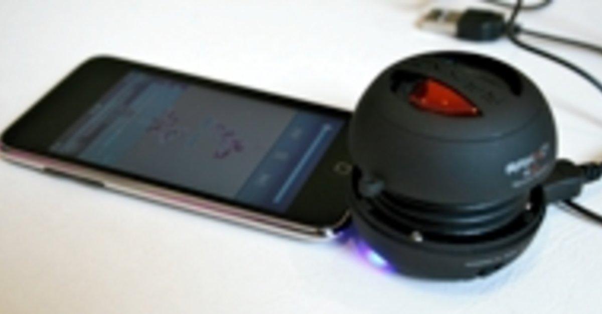 raikko xsplus vacuumspeaker lautsprecher f r iphone und co im test giga. Black Bedroom Furniture Sets. Home Design Ideas