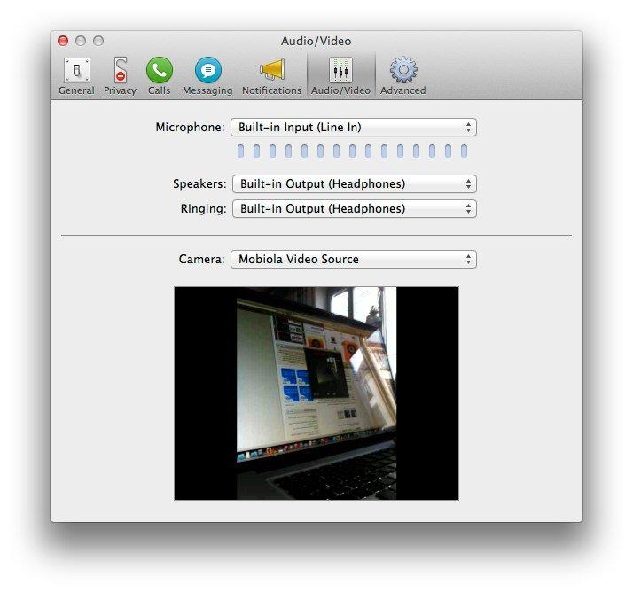 Mobiola Web Camera: iPhone und iPad als Webcam für den Mac