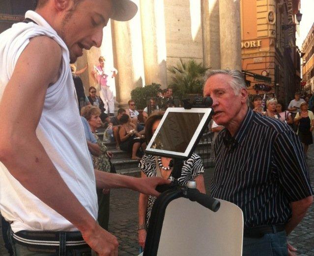 Segway mit iPad-Halterung für Rom-Guides