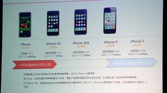 iPhone 5: Bis zu 64GB Speicher und HSPA+