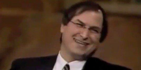 Steve Jobs 1996 im Fernsehinterview: Apple-Vorteil ist Innovation